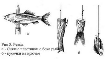 как ловить рыбу на крючок тройников